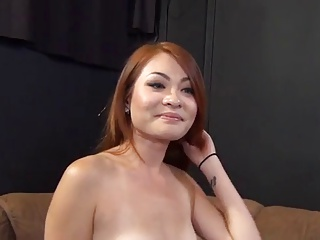 HD Asians tube Redhead