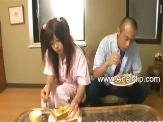 Ass licking Asians tube