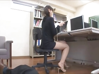 HD Asians tube Office
